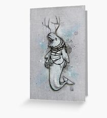 Beluga Greeting Card