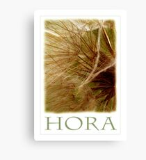 HORA Canvas Print