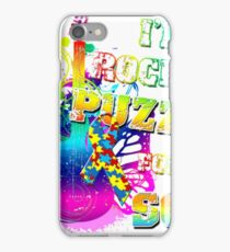 I'm Rockin' A Puzzle For My Son- Autism Shirt iPhone Case/Skin