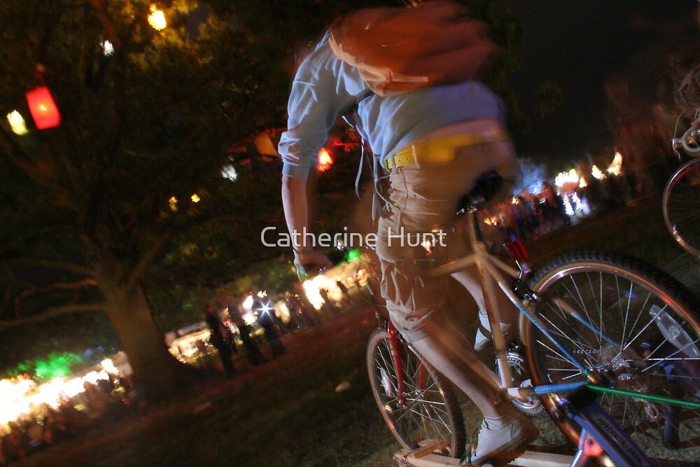 Eco Cyclist by Catherine Hunt