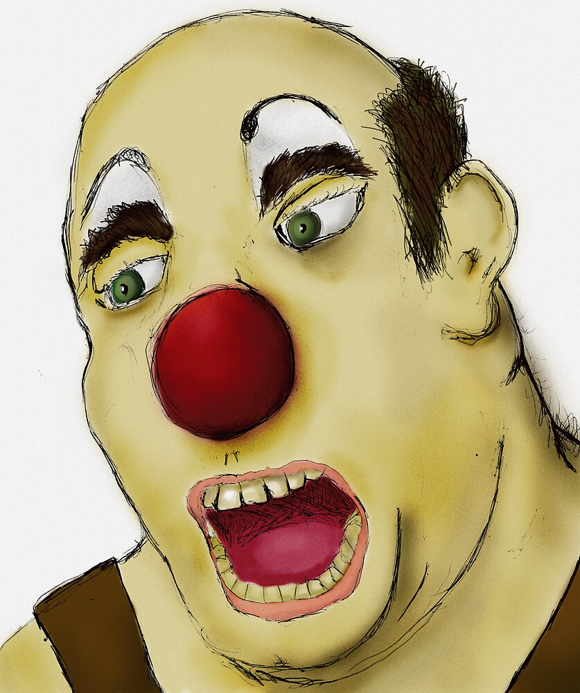 Big Fat Clown by kgittoes