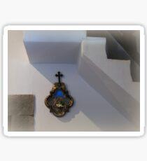 Via Crucis - the IX-th Station Sticker
