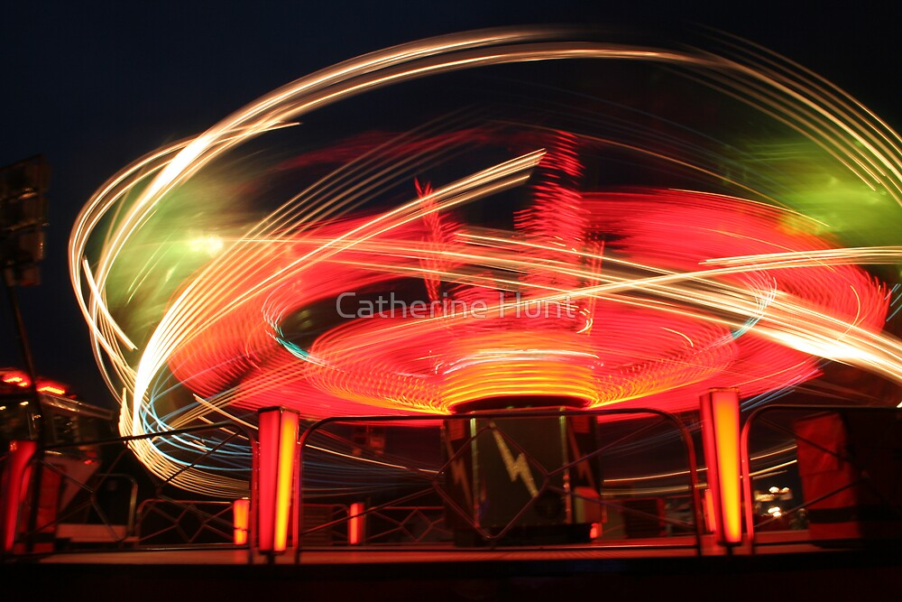 Fairground Ride by Catherine Hunt