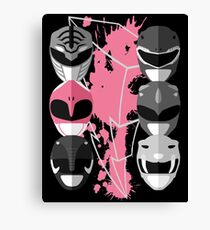 It's Morphin Time - Pterodactyl Canvas Print