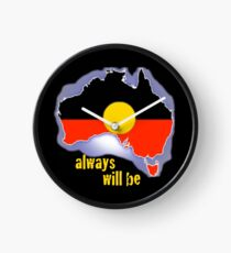 Always was, always will be, Aboriginal land Clock