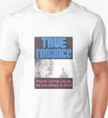 TRUE ROMANCE hand drawn movie poster in pencil T-Shirt