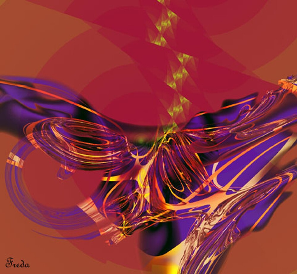 """Fractal: """"Abstract"""" by Freda Surgenor"""