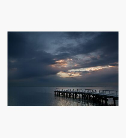 Light on Corio Bay,Portarlington Photographic Print