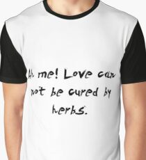 "Ah me! love can... ""Ovid"" Inspirational Quote Graphic T-Shirt"