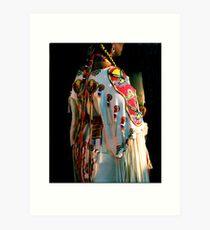 Woman Pow-wow Dancer Art Print