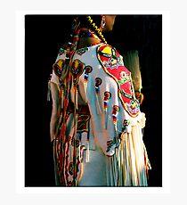 Woman Pow-wow Dancer Photographic Print
