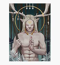 Cernunos, Celtic God of the Wild Forests Photographic Print