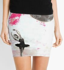 On Pointe by the Moon Mini Skirt