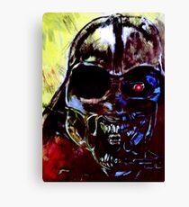 Darth Vader Alien Terminator Mashup Canvas Print