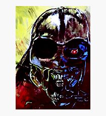 Darth Vader Alien Terminator Mashup Photographic Print