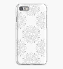 Kitchen Cutlery Outline Circles iPhone Case/Skin
