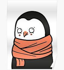 Little Fashion Penguin Poster