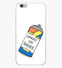 Spray on Shoes!!! iPhone Case