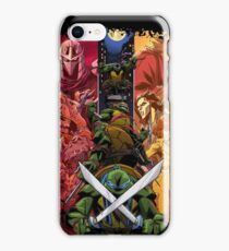 Teenage Mutant Ninja Turtle Cast  iPhone Case/Skin