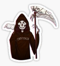 Death Obsessed Sticker