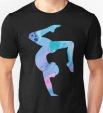 Stag Handstand - Rainbow  Unisex T-Shirt