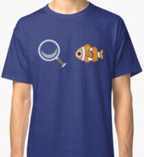 Clown Fish Emoji Graphic Classic T-Shirt