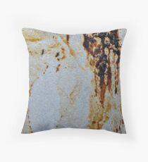 texture_1. dirt. rust Throw Pillow