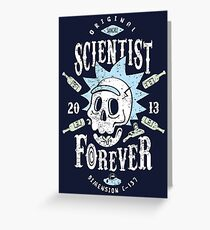 Scientist Forever Greeting Card
