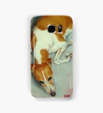 Chloe The Whippet Samsung Galaxy Case/Skin