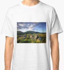 Long Exposure of Blencathra Classic T-Shirt