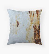 texture_3. dirt. rust Throw Pillow