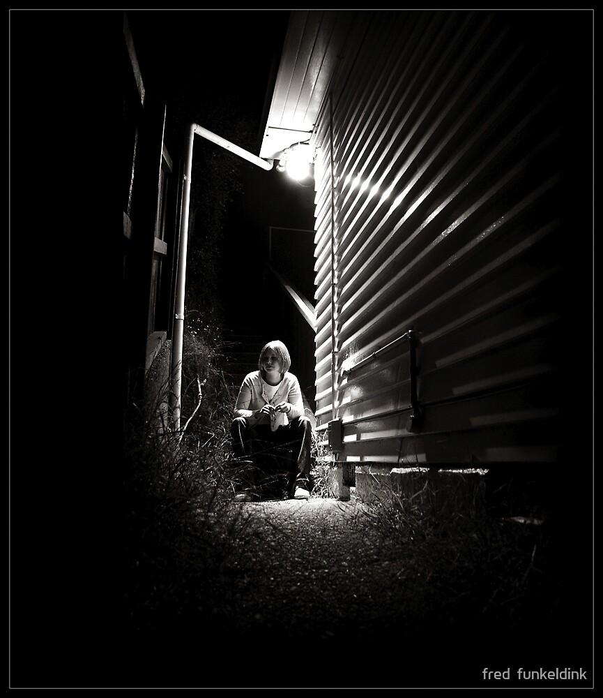 waiting by fred  funkeldink