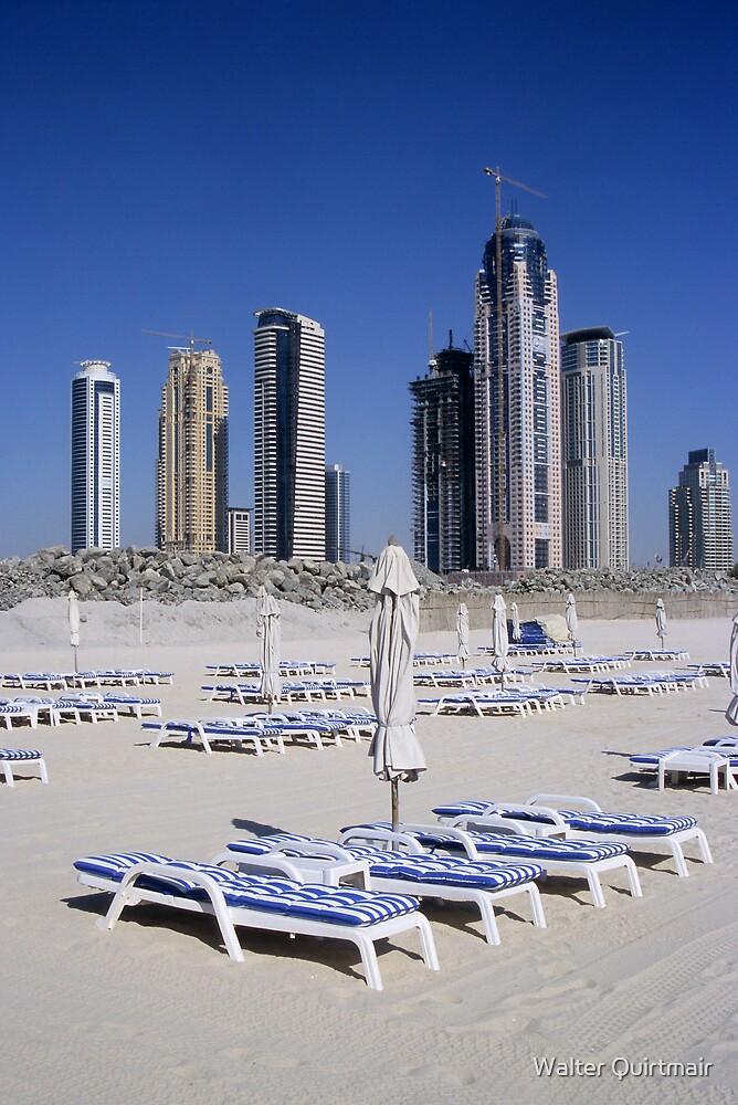 Dubai Beach by Walter Quirtmair