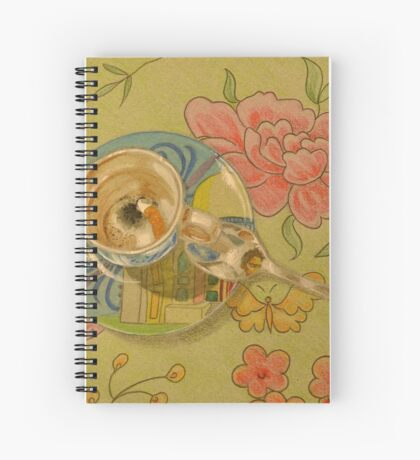 On the Coffee Table Spiral Notebook
