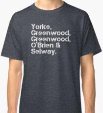 Radiohead [line-up] Classic T-Shirt