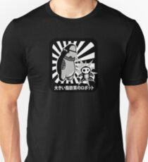 Robot with victim - noir style Unisex T-Shirt