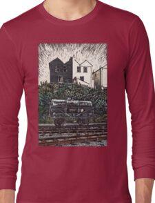 SULPHURIC D ONLY colour version Long Sleeve T-Shirt
