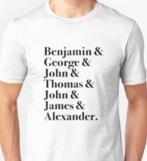 Founding Fathers Unisex T-Shirt