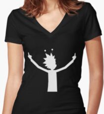 Rick Solo Women's Fitted V-Neck T-Shirt