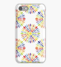 Kitchen cutlery rainbow iPhone Case/Skin