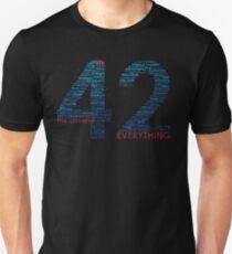 Camiseta ajustada La vida, el universo y todo. Guía del autoestopista galáctico
