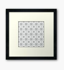 Antique Pattern Framed Print