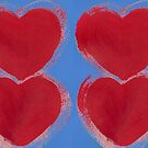 Painted Hearts by KazM