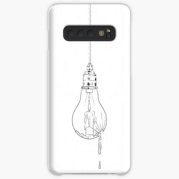 candle lightbulb Samsung Galaxy Snap Case