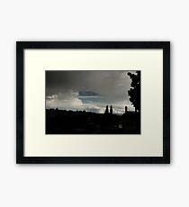 Zurich Skyline Framed Print