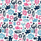 Surf Pattern by Sonia Pascual