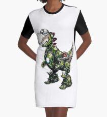 Iron Yoshi Graphic T-Shirt Dress