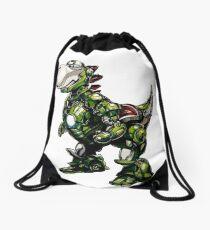 Iron Yoshi Drawstring Bag