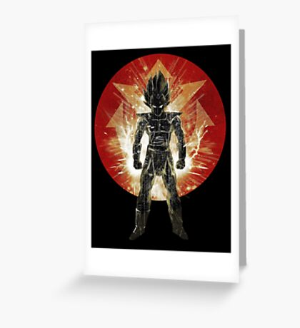 red sayan storm Greeting Card