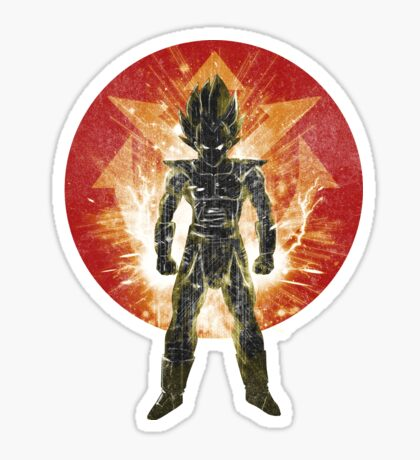red sayan storm Sticker